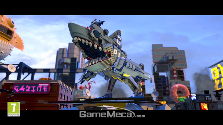 '레고 닌자고 무비 비디오 게임' 스크린샷 (사진제공: 인플레이 인터렉티브)