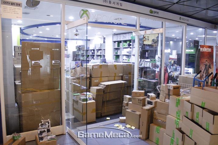 '포르자 7' 출시 준비에 한창이었던 동서게임 (사진출처: 게임메카 촬영)