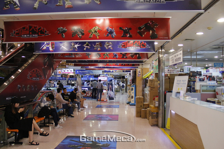 변화가 시작되는 9월 매장을 직접 방문했다 (사진출처: 게임메카 촬영)
