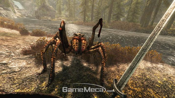 거미와의 전투는 등줄기가 서늘해진다 (사진출처: PS 공식 홈페이지)