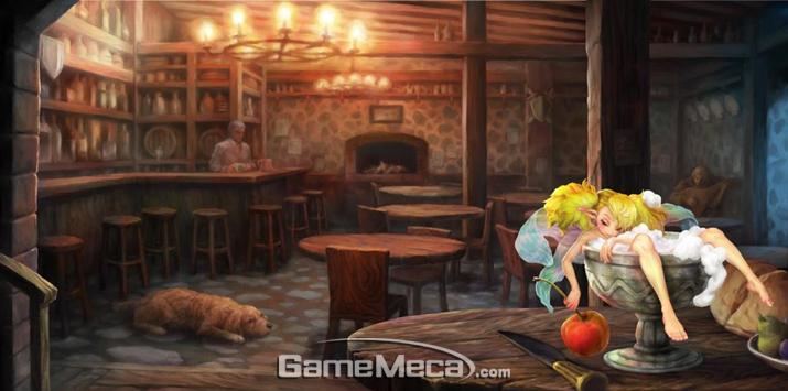 '드래곤즈 크라운'의 요정 '티키', 모험을 간접적으로 도와주는 역할을 한다 (사진출처: 게임 내 스크린샷)