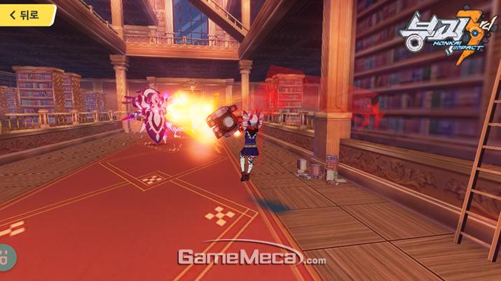 적당히 공격을 끊고 식혀줄 필요가 있는 레이저 (사진출처: 게임메카 촬영)