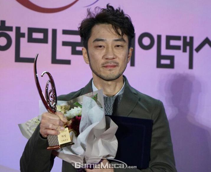 2017 대한민국 게임대상을 수상한 펍지주식회사 김창한 대표