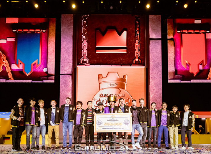 슈퍼셀 '클래시 로얄' 월드 챔피언십 참가자들 (사진제공: 슈퍼셀)