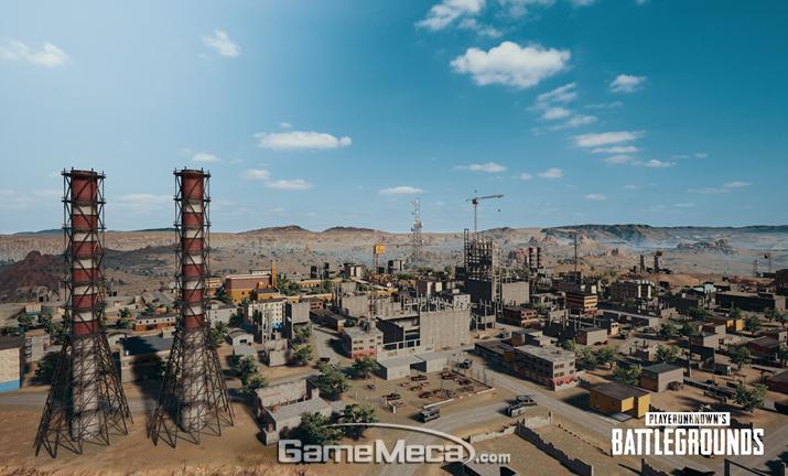 사람이 더이상 살지않는 사막의 도시 '미라마' (사진출처: 게임 공식 홈페이지)