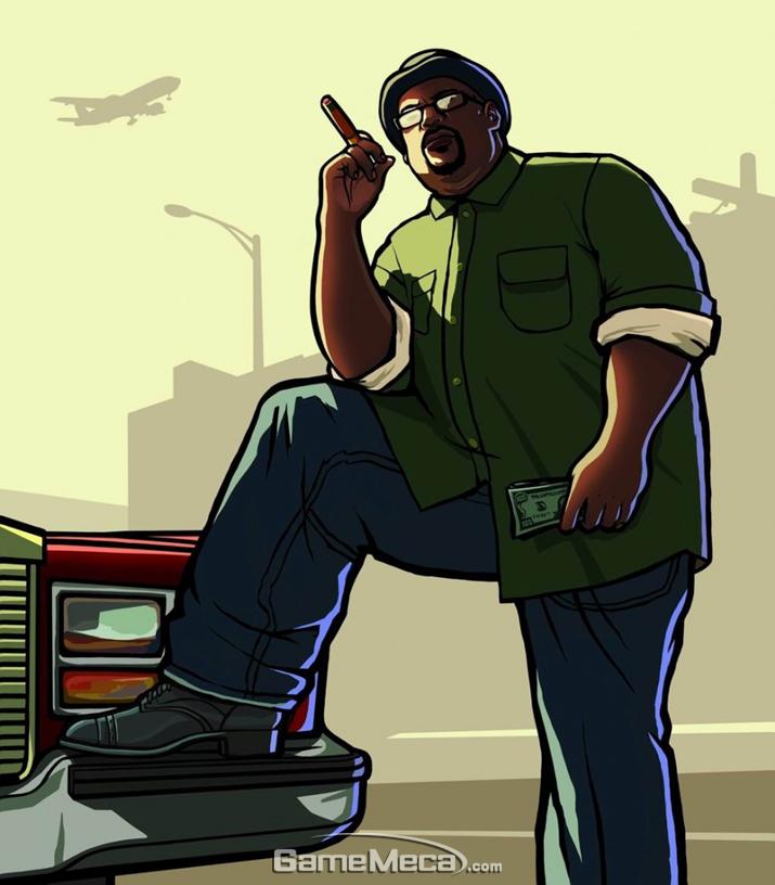 미국인이라면 햄버거 세트 7개는 기본 아냐? (사진출처: GTA wiki)