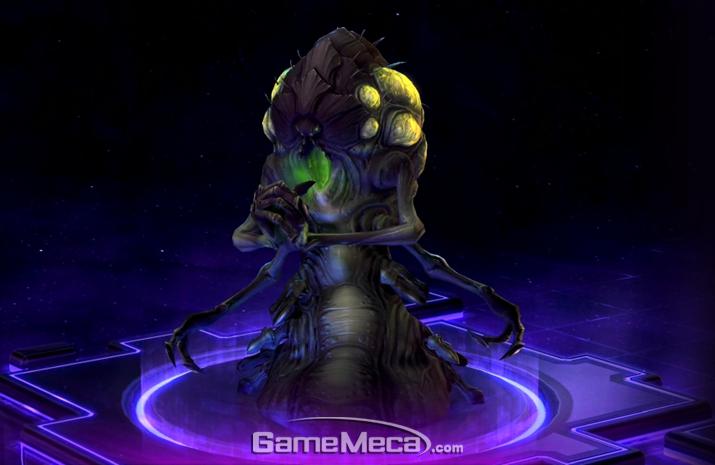 미친 과학자 같지만 알고보면 저그의 귀염둥이, 아바투르 (사진출처: 히어로즈 오브 더 스톰 공식 사이트)