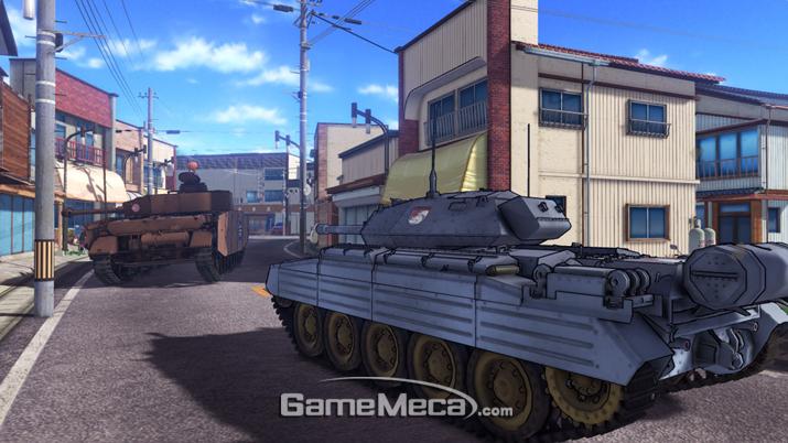 걸즈 앤 판처 드림 탱크 매치