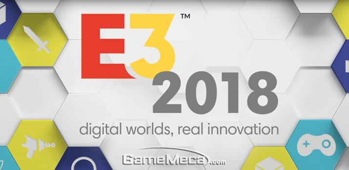 가장 많은 신작 정보를 접할 수 있는 'E3 2018' (사진출처: E3 공식 사이트)