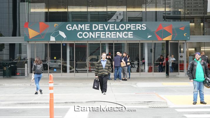 매년 게임업계 최신 이슈들의 정보공유가 이루어지는 'GDC' (사진: 게임메카 촬영)