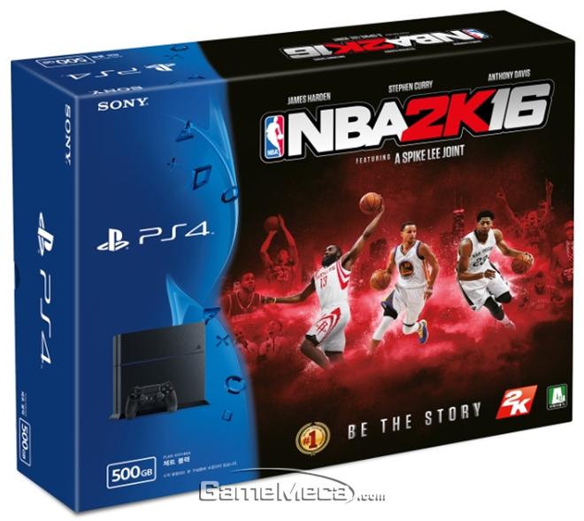 'NBA 2K16' PS4 번들 패키지 10월 29일 발매
