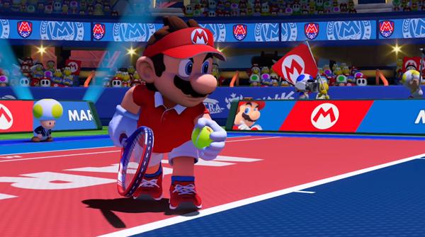 스포츠보다는 '대전격투'의 재미, 마리오 테니스...