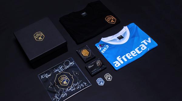 롤드컵 출전 기념, '아프리카 프릭스' 유니폼 패키지 출시