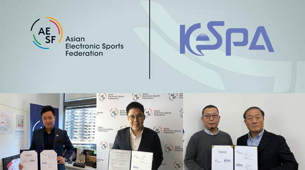 KeSPA, 아시안게임 대비 아시아e스포츠연맹과...