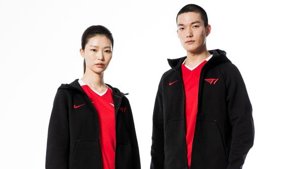 나이키에서 만든 'T1 LCK 스프링 유니폼' 출시