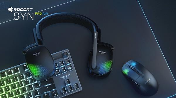 3D 오디오 탑재, 로캣 무선 헤드셋 '씬 프로...