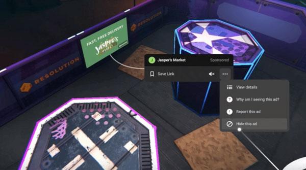 VR 게임에도 인게임 광고 도입된다, 오큘러스 ...