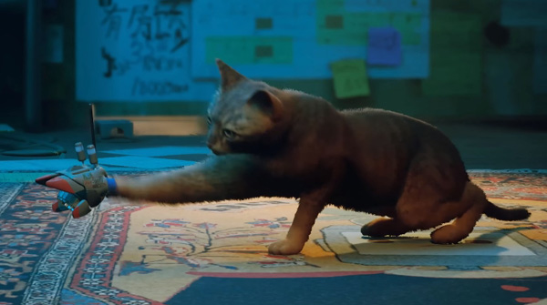 사이버펑크 길냥이의 기묘한 모험 '스트레이' 플...